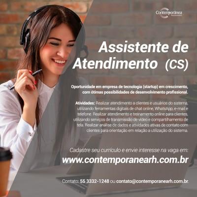 Assistente de Atendimento (Customer Success)