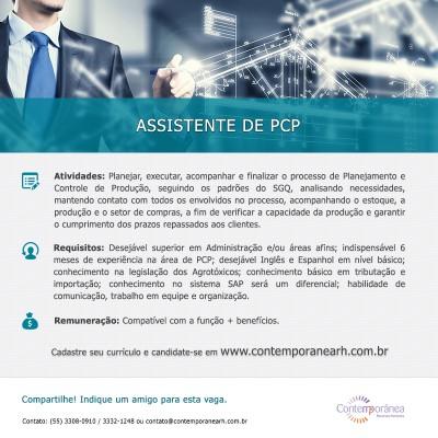 Assistente de PCP