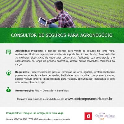 Consultor de Seguros para Agronegócio