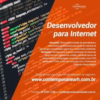 Desenvolvedor Web