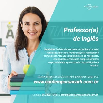 Professor de Inglês(a)