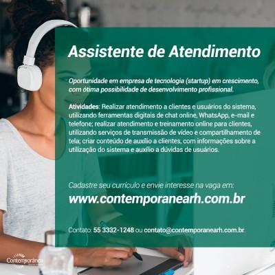 Assistente de Atendimento (CS)