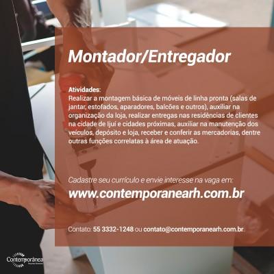 Montador/Entregador