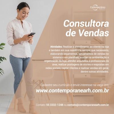 Consultora de Vendas