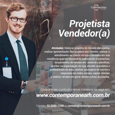 Projetista Vendedor(a)